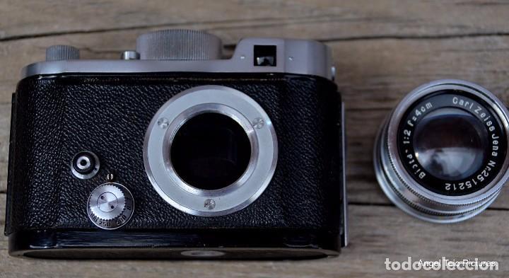 Cámara de fotos: Robot-Il-Wartime-Camera-Lens-Zeiss-Biotar-40-F-2-Luftwaffen-Eigentum - Foto 3 - 105348142