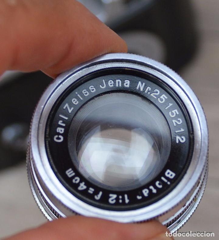 Cámara de fotos: Robot-Il-Wartime-Camera-Lens-Zeiss-Biotar-40-F-2-Luftwaffen-Eigentum - Foto 4 - 105348142
