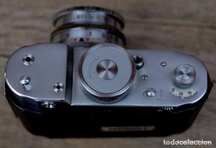 Cámara de fotos: Robot-Il-Wartime-Camera-Lens-Zeiss-Biotar-40-F-2-Luftwaffen-Eigentum - Foto 7 - 105348142