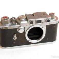 Cámara de fotos: *C1955* • SHOWA OPTICAL LEOTAX T (CUERPO) • RARA VARIANTE FUNCIONAL, TELEMÉTRICA MONTURA LEICA M39. Lote 104772655