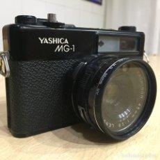 Cámara de fotos: YASHICA MG - 1. Lote 107342516