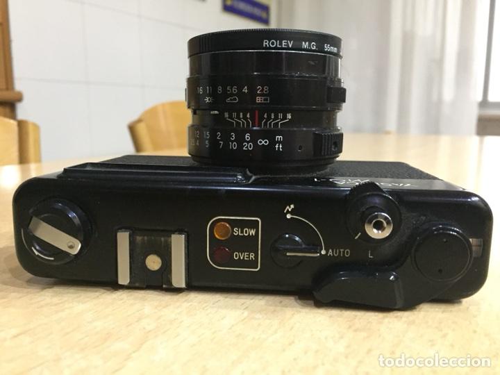 Cámara de fotos: Yashica MG - 1 - Foto 2 - 107342516