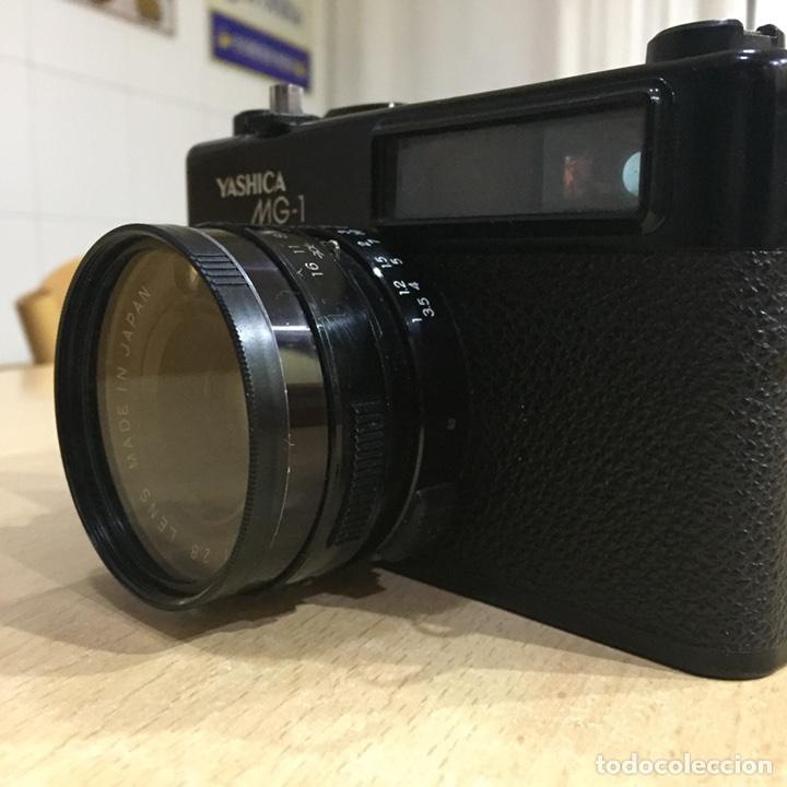 Cámara de fotos: Yashica MG - 1 - Foto 3 - 107342516