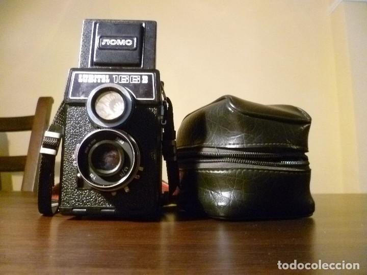 Cámara de fotos: CÁMARA LOMO LUBITEL 166 B INCLUYE FUNDA - URSS, RUSA. - Foto 2 - 107481331