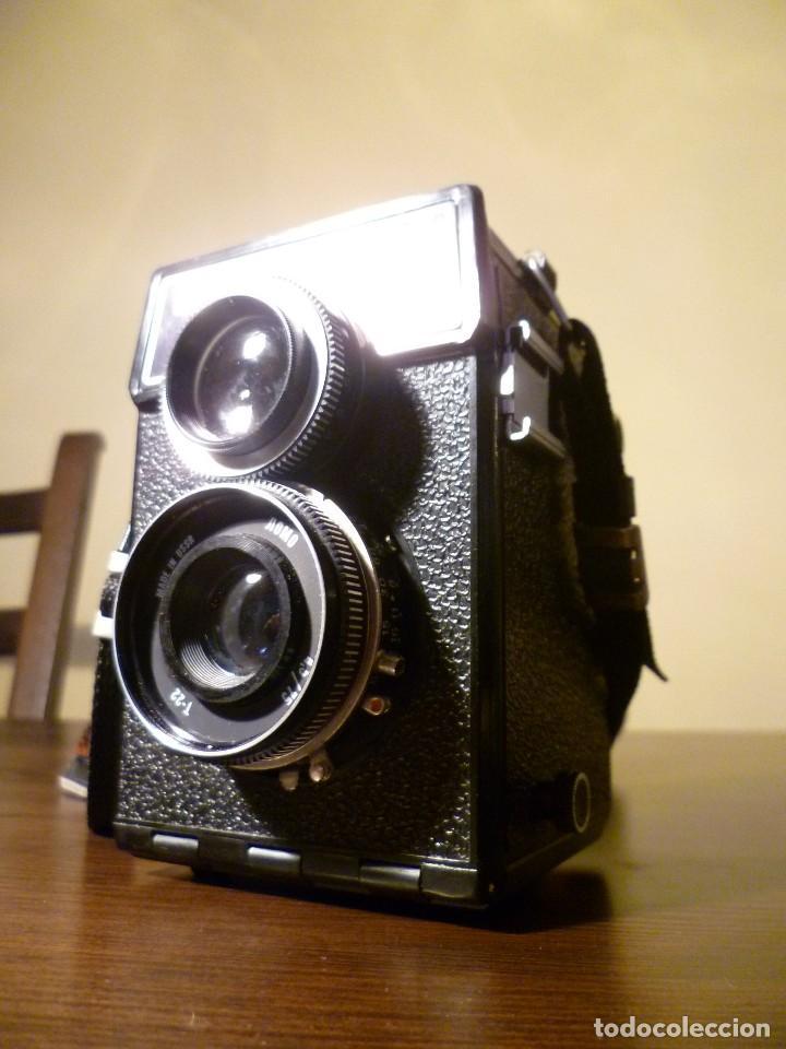 Cámara de fotos: CÁMARA LOMO LUBITEL 166 B INCLUYE FUNDA - URSS, RUSA. - Foto 3 - 107481331