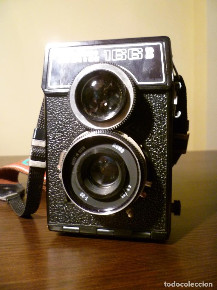 Cámara de fotos: CÁMARA LOMO LUBITEL 166 B INCLUYE FUNDA - URSS, RUSA. - Foto 4 - 107481331