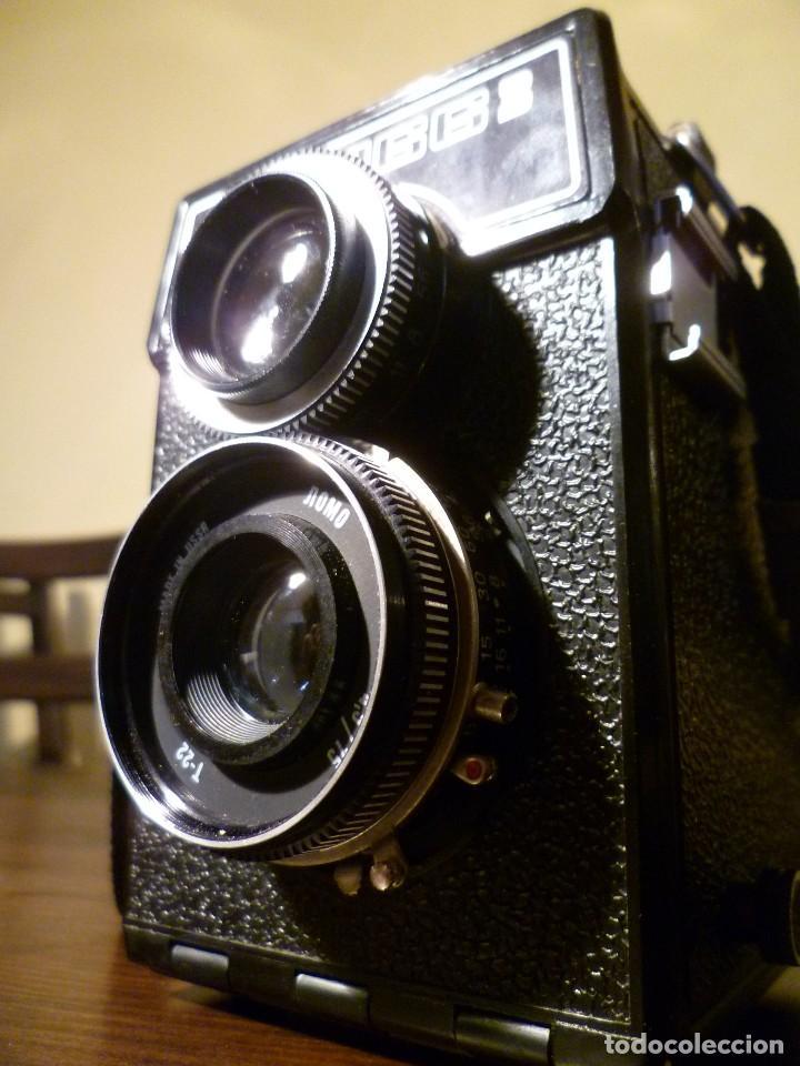 Cámara de fotos: CÁMARA LOMO LUBITEL 166 B INCLUYE FUNDA - URSS, RUSA. - Foto 6 - 107481331