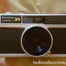 Cámara de fotos: CÁMARA FUJICA COMPACT 35. Lote 109053675