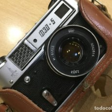 Cámara de fotos: TELEMÉTRICA FED 5 B OLIMPIADAS MOSCU 1980. Lote 109512775