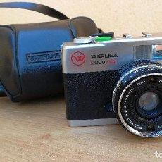 Cámara de fotos: CÁMARA DE FOTOS WERLISA COLOR 2000 CON FUNDA ORIGINAL . Lote 109666687