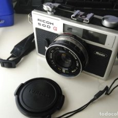 Cámara de fotos: RICOH 500G - TELEMETRICA PARA PELICULAS 35MM. Lote 110045399