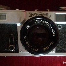 Photo camera - CÁMARA DE FOTOS KIEV SOVIÉTICA, RUSA, URSS CON SU FUNDA ORIGINAL - 110930851