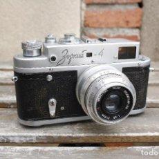 Cámara de fotos: CLÁSICA CÁMARA TELEMÉTRICA DE COLECCIÓN - ZORKI 4 - AÑO 1964. Lote 111720591