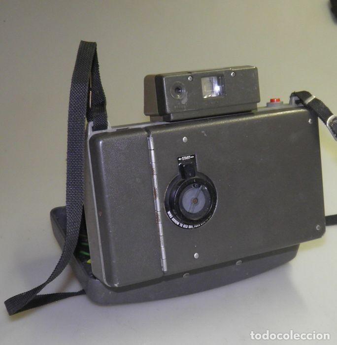 Cámara de fotos: CAMARA Polaroid Land Modelo 350 buen estado años 1960/1970 Vintage libro de instrucciones (Alemán) - Foto 2 - 112430715