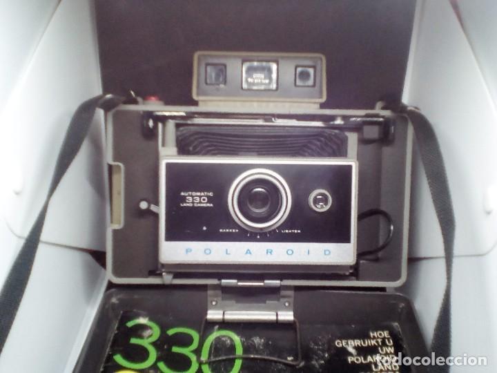 Cámara de fotos: CAMARA Polaroid Land Modelo 350 buen estado años 1960/1970 Vintage libro de instrucciones (Alemán) - Foto 4 - 112430715