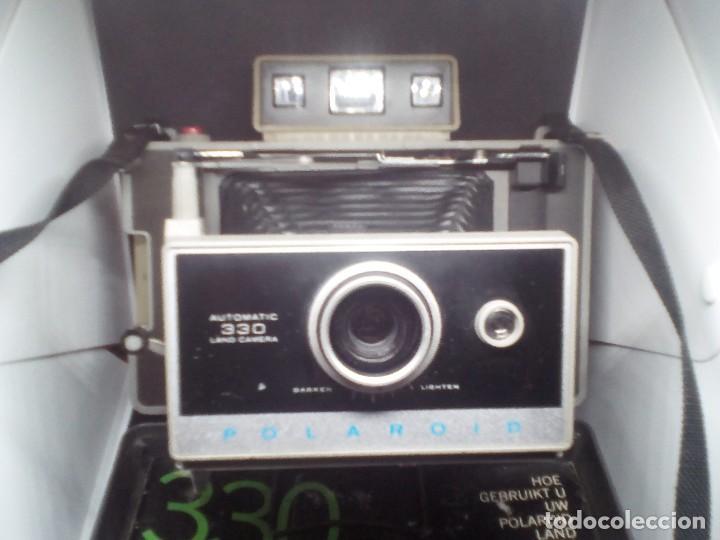 Cámara de fotos: CAMARA Polaroid Land Modelo 350 buen estado años 1960/1970 Vintage libro de instrucciones (Alemán) - Foto 5 - 112430715