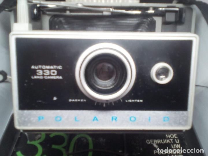Cámara de fotos: CAMARA Polaroid Land Modelo 350 buen estado años 1960/1970 Vintage libro de instrucciones (Alemán) - Foto 6 - 112430715