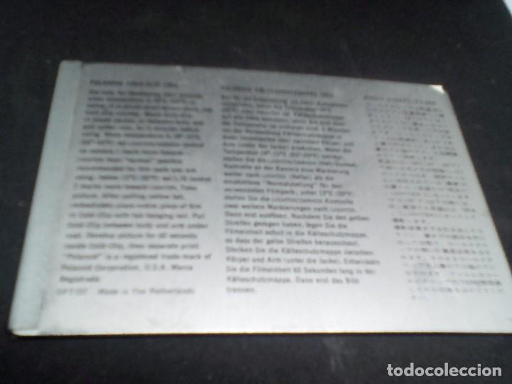 Cámara de fotos: CAMARA Polaroid Land Modelo 350 buen estado años 1960/1970 Vintage libro de instrucciones (Alemán) - Foto 7 - 112430715
