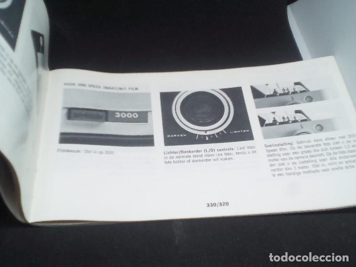 Cámara de fotos: CAMARA Polaroid Land Modelo 350 buen estado años 1960/1970 Vintage libro de instrucciones (Alemán) - Foto 10 - 112430715