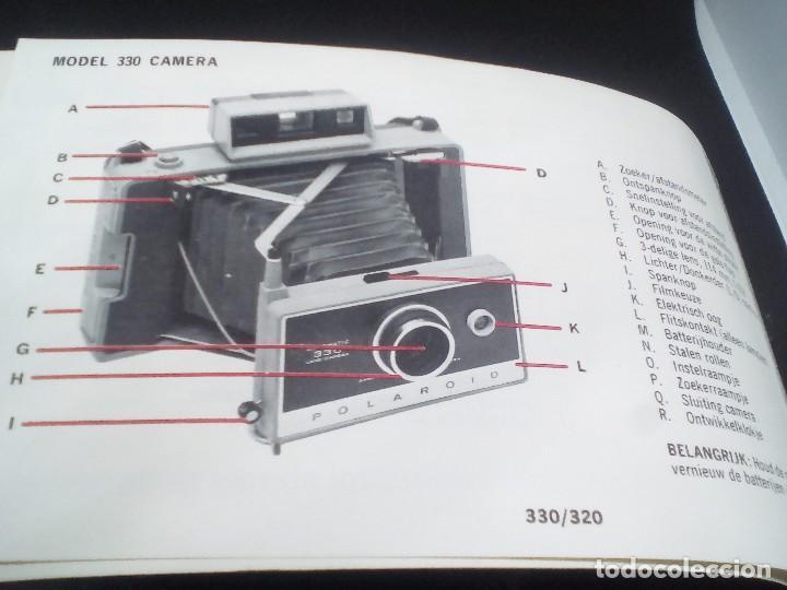 Cámara de fotos: CAMARA Polaroid Land Modelo 350 buen estado años 1960/1970 Vintage libro de instrucciones (Alemán) - Foto 11 - 112430715
