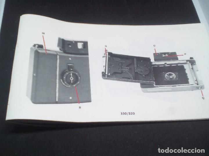 Cámara de fotos: CAMARA Polaroid Land Modelo 350 buen estado años 1960/1970 Vintage libro de instrucciones (Alemán) - Foto 12 - 112430715