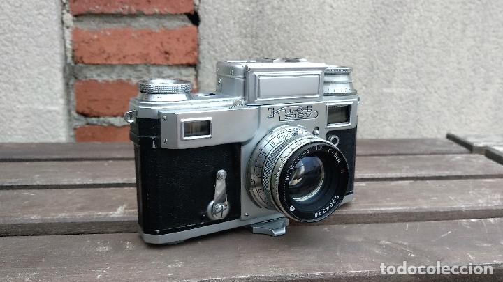 Cámara de fotos: Cámara de colección - KIEV 3 A - Modelo de la Primera serie - Foto 2 - 112701759