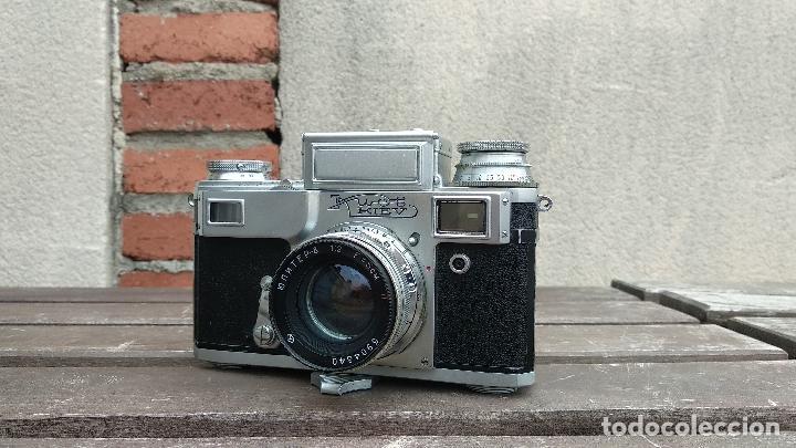Cámara de fotos: Cámara de colección - KIEV 3 A - Modelo de la Primera serie - Foto 3 - 112701759