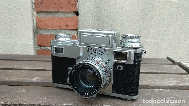 Cámara de fotos: Cámara de colección - KIEV 3 A - Modelo de la Primera serie - Foto 4 - 112701759