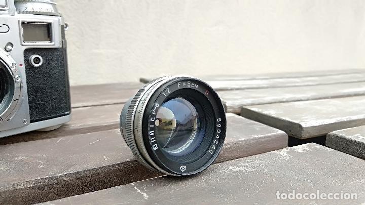 Cámara de fotos: Cámara de colección - KIEV 3 A - Modelo de la Primera serie - Foto 6 - 112701759