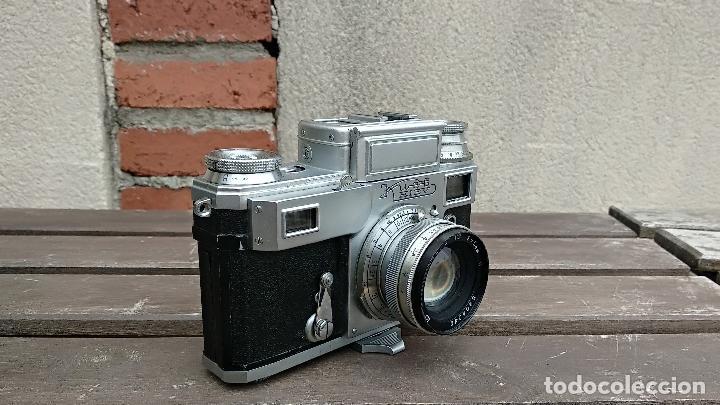 Cámara de fotos: Cámara de colección - KIEV 3 A - Modelo de la Primera serie - Foto 8 - 112701759
