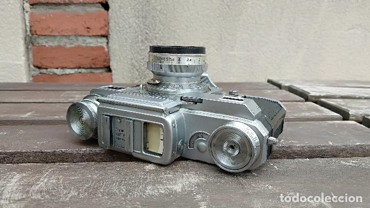 Cámara de fotos: Cámara de colección - KIEV 3 A - Modelo de la Primera serie - Foto 10 - 112701759