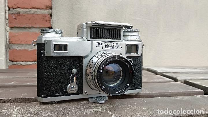 Cámara de fotos: Cámara de colección - KIEV 3 A - Modelo de la Primera serie - Foto 11 - 112701759