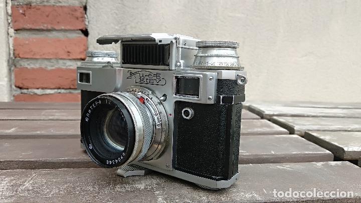 Cámara de fotos: Cámara de colección - KIEV 3 A - Modelo de la Primera serie - Foto 12 - 112701759