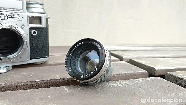 Cámara de fotos: Cámara de colección - KIEV 3 A - Modelo de la Primera serie - Foto 13 - 112701759