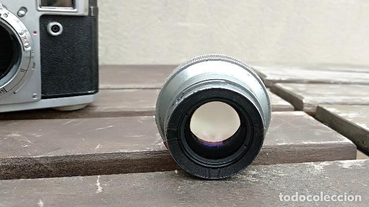 Cámara de fotos: Cámara de colección - KIEV 3 A - Modelo de la Primera serie - Foto 14 - 112701759