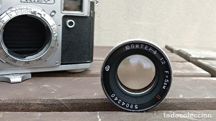 Cámara de fotos: Cámara de colección - KIEV 3 A - Modelo de la Primera serie - Foto 15 - 112701759