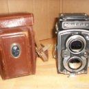 Cámara de fotos: CAMARA ROLLEIFLEX-DBP-1712622-CON FUNDA. Lote 147004144
