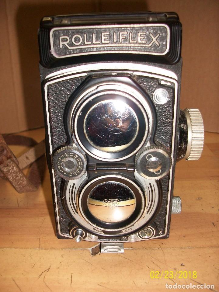 Cámara de fotos: CAMARA ROLLEIFLEX-DBP-1712622-CON FUNDA - Foto 2 - 147004144