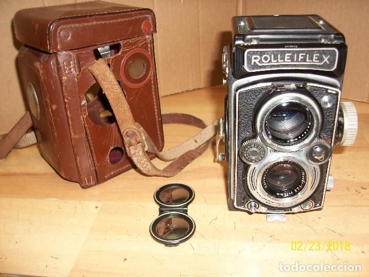 Cámara de fotos: CAMARA ROLLEIFLEX-DBP-1712622-CON FUNDA - Foto 8 - 147004144