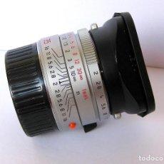 Cámara de fotos: LEICA SUMMICRON M 35/2 ASPH. CROMADO. COMO NUEVO.. Lote 113256323
