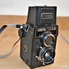 Fotokamera - CAMARA VINTAGE SOVIETICA-LUBITEL 166 B- URSS-1970. - 114432383