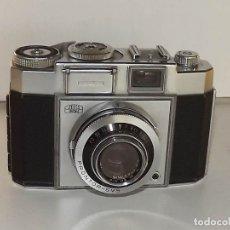 Cámara de fotos: CÁMARA ZEISS IKON, 1956. EL PASADOR DEL CARRETE ESTÁ BLOQUEADO. Lote 51568041