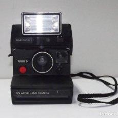 Cámara de fotos: POLAROID LAND CAMERA CON FLASH POLATRONIC 1. Lote 77301557