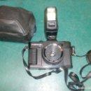 Cámara de fotos: CAMARA CANOMATIC OX-5 CON FLASH PANASONIC PE-145. Lote 113966655