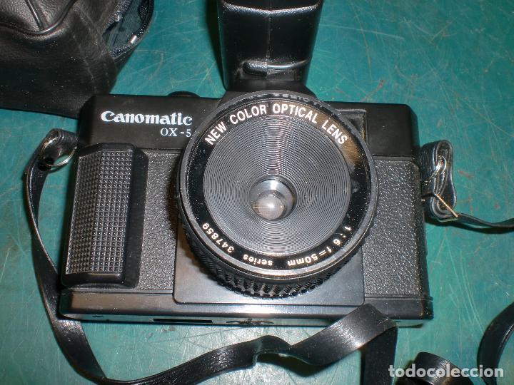 Cámara de fotos: Camara canomatic ox-5 con flash panasonic pe-145 - Foto 2 - 113966655