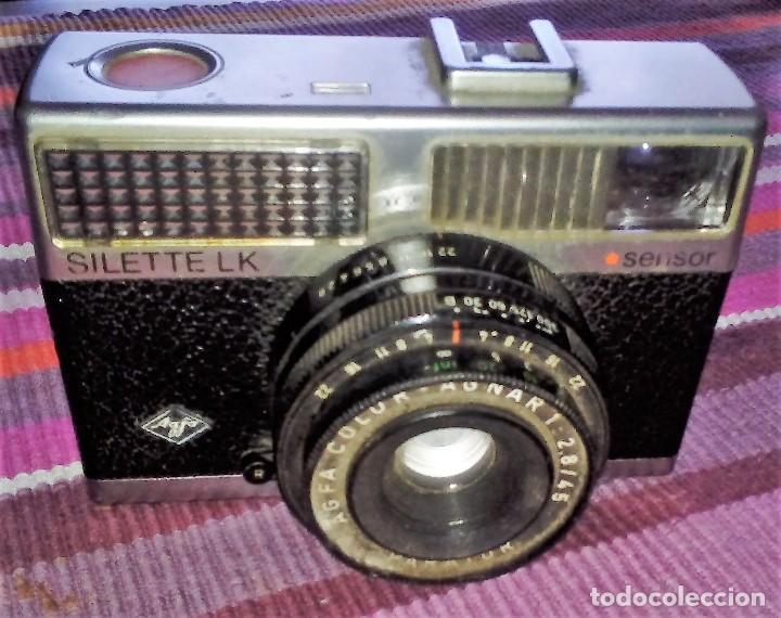 AGFA SILETTE LK SENSOR AÑOS 60 GERMANY (Cámaras Fotográficas - Clásicas (no réflex))