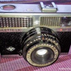 Cámara de fotos: AGFA SILETTE LK SENSOR AÑOS 60 GERMANY. Lote 113984003