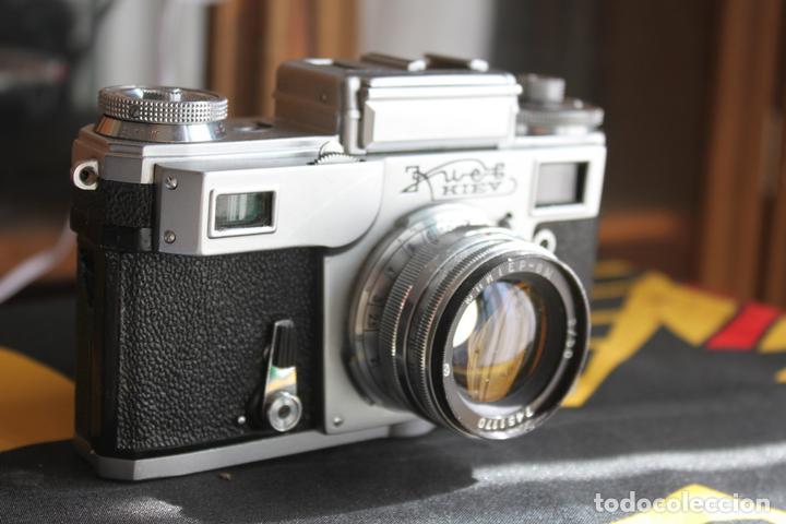 KIEV 4 + JUPITER 50MM F:2 (Cámaras Fotográficas - Clásicas (no réflex))