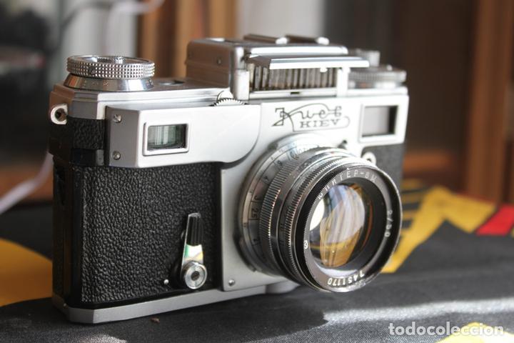 Cámara de fotos: Kiev 4 + Jupiter 50mm F:2 - Foto 2 - 114650807