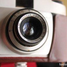 Cámara de fotos: CÁMARA ADOX 35MM (GERMANY) + FUNDA DE CUERO. Lote 116097799